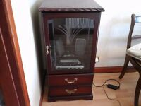 John Coyle Vintage Hi-Fi unit in mahogany