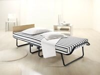Single Folding Guest Bed with Dual Density Airflow Mattress