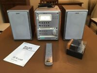 Sony CMT-DC500MD Micro Hi-fi Component System with CD, tape, mini-disc and FM/AM tuner
