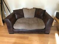 2seater sofa, chair & footstool