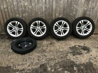 BMW e90 6 780 907 - 4X Alloy Wheels and Winter Tyres plus space saver and tools
