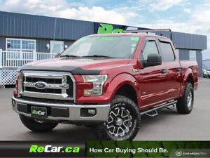 2016 Ford F-150 XLT 4X4 | CREW | UPGRADED WHEELS