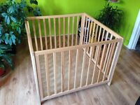 A very good condition playpen