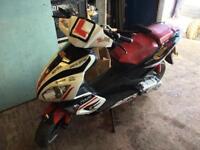 Pulse 50cc moped