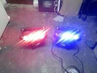 2x Spider moving head disco lights