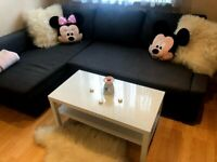 White glossy coffee table living room two levels modern FREE DELIVERY