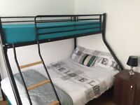 Triple Bunk Bed with single Mattress