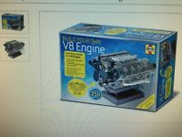 Build Your Own V8 engine Toy for Boys