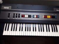Combo Keyboard Analog Organ Farfisa Bravo