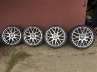 Alloy wheels and tyres Renault megane 19""