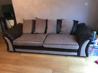 DFS 4 seater & cuddle chair