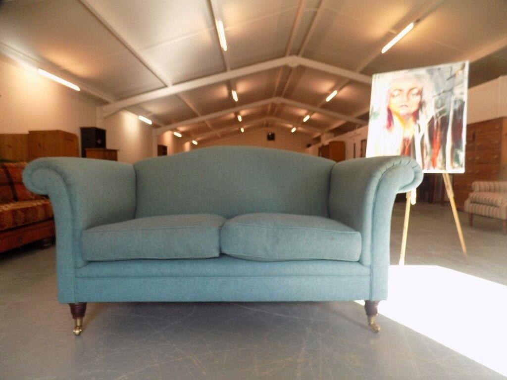 Laura Ashley Gloucester Teal 2 Seater Sofa