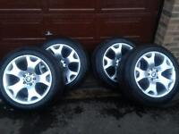 "BMW 19"" ALLOY WHEELS TIGERCLAWS TIGER CLAWS alloys may swap"