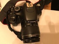 Canon 550D with kit lens - Excellent condition