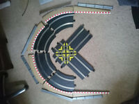 Scalextric long corner with sweep and barriers - New track