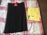 Bag 2 - black bag of ladies clothes - size 14-16