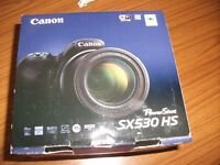 Brand new & boxed Canon SX530HS
