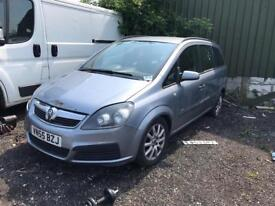 Vauxhall Zafia 2006 silver BREAKING FOR PARTS
