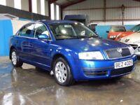 2005 Skoda superb 2.5 tdi with only 72000 miles, 1 owner full mot