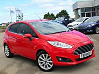 Ford Fiesta 1.0 EcoBoost Titanium 5dr (race red) 2015