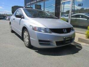 2009 Honda Civic AUTO COUPE WITH ONLY 55K & FRESH 2-YEAR MVI!