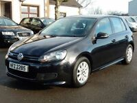 2011 Volkswagen golf 1.6 tdi bluemotion only 68000 miles, motd oct 2017 ALL CARDS WELCOME