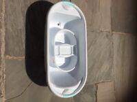 Baby bath tub and wash tub