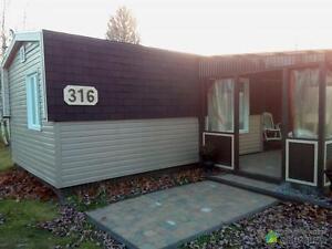 85 000$ - Maison modulaire à vendre à St-Apollinaire