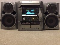Sony Hifi system 3x Cd disc changer, radio, 2x tape, Aux