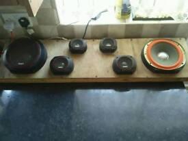 Car speakers 🔊 system qiuck sale