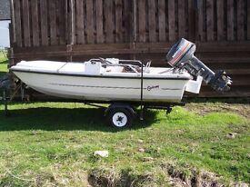ORKNEY 315 MOTOR BOAT