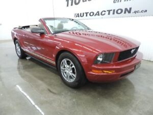 2008 Ford Mustang DÉCAPOTABLE
