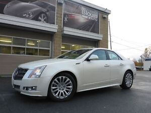 2010 Cadillac CTS 3.6L, awd, Toit ouvrant, 90215km