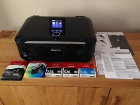 Canon Pixma MG6250 Wireless All-in-One Inkjet Photo Printer / scanner / copier plus extra inks