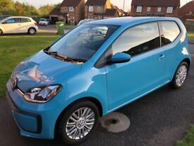 Late 2016 Volkswagen UP, Move UP, 1.0L 12 valve, Only 2000 miles from new, SHOWROOM CONDITION!