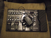 Boss ME-70 Multi_Effects pedal + AC-Adaptor (not included when bought new, also takes batteries.