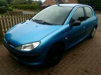 Peugeot 206 eco 1.4 hdi £30 tax years mot may swap why?