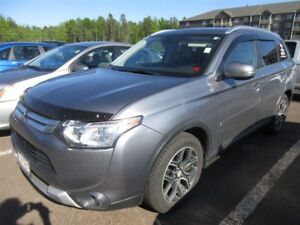 2015 Mitsubishi Outlander GT- 4X4! BACK-UP CAM! ALLOYS! LEATHER!