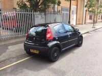 2007 PEUGEOT 107, 5 DOOR, 1.0 PETROL MANUAL IN EXCELLENT CONDITION, £20 A YEAR TAX