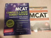 KAPLAN MCAT Complete 5 Book Subject Review