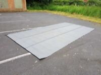 Grey Woven Groundsheet for Awning or Tent Size approx 487cm x 245cm