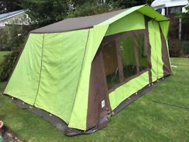 """Orion 4 person frame tent 13'11"""" wide 11' deep"""