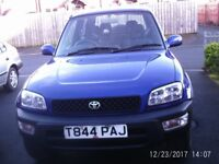beautiful toyota rav for sale 1999 one owner from new.