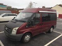 Ford transit 2.2tdci campervan