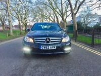 Automatic 2012 Mercedes-Benz C Class 2.1 C250 CDI BlueEFFICIENCY AMG Sport| Hpi clear | Full Service