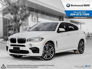2015 BMW X6 M AWD 4dr HEA Package! Connected Drive Services!