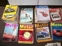 MOTOR MAGAZINE 1966.1967,1968,AND 1969