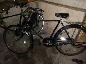 Gents retro bicycle