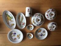 Royal Worcester china