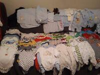0-2 years Baby Boys Cloths Bundle M&S, John Lewis, Next, Debenhams, GAP, Mothercare